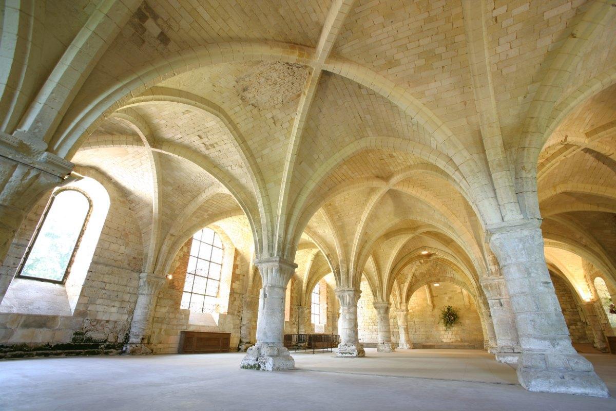 Vaucelles abbey - Les Rues des Vignes