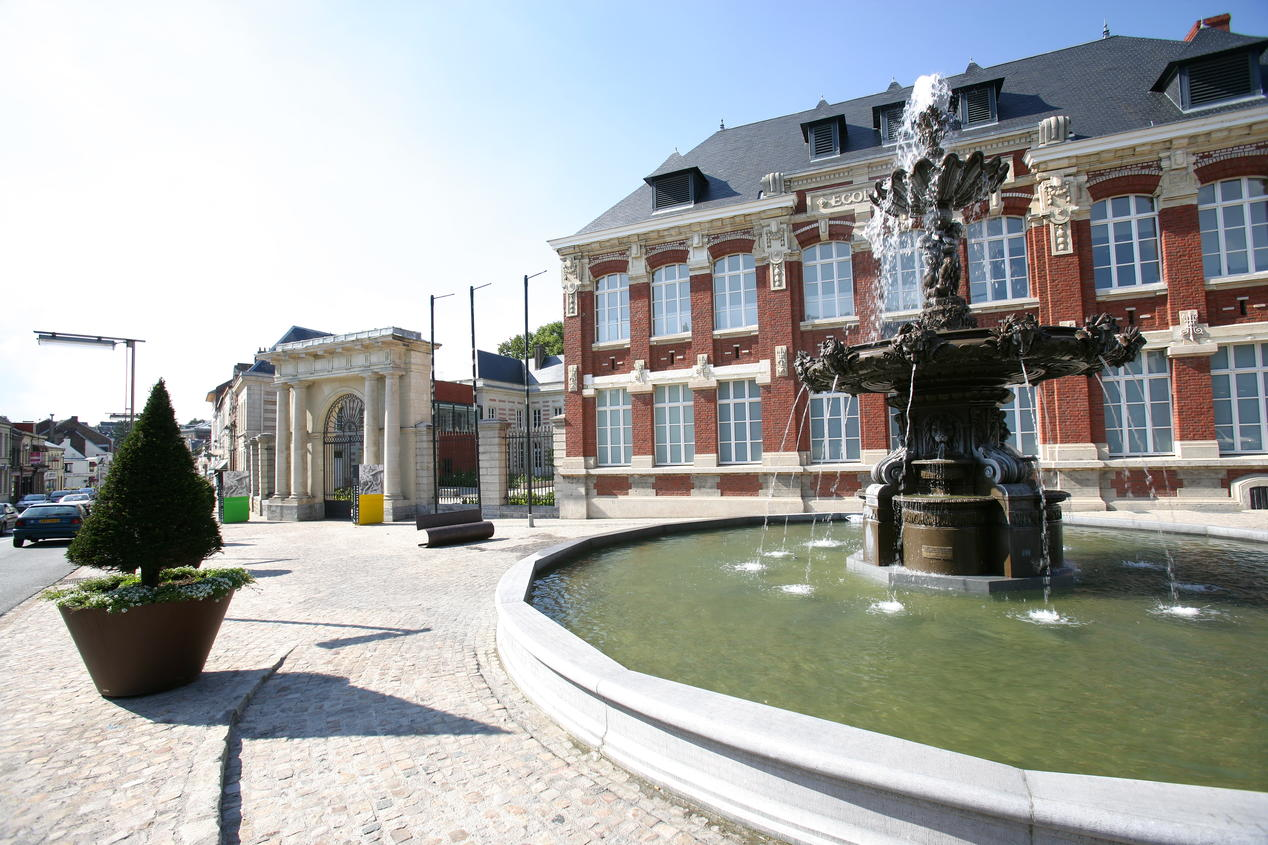 Main Square at Le Cateau-Cambrésis