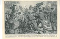 Fierce fighting at Le Cateau Battle