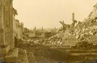Villers-Guislain ruins in 1918.