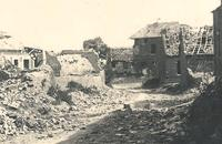 Retaken by the Germans, the hamlet was ravaged by