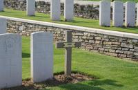 British cemetery in Solesmes