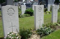 Tombes du cimetière de la Porte de Paris, Cambrai