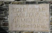 Forenville military cemetery