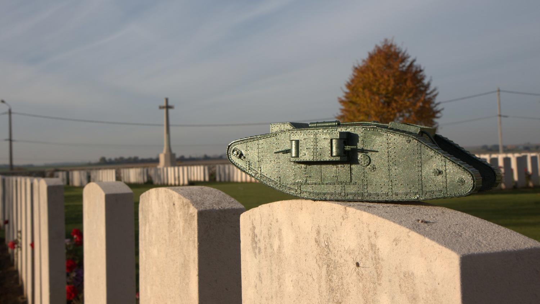 Flesquieres british hill cemetery