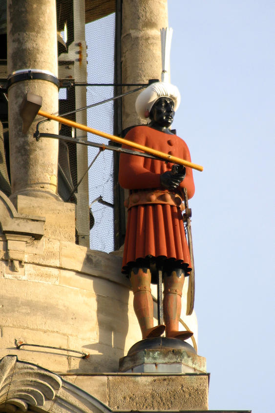 Martin, on the bell tower of the town hall - Cambr
