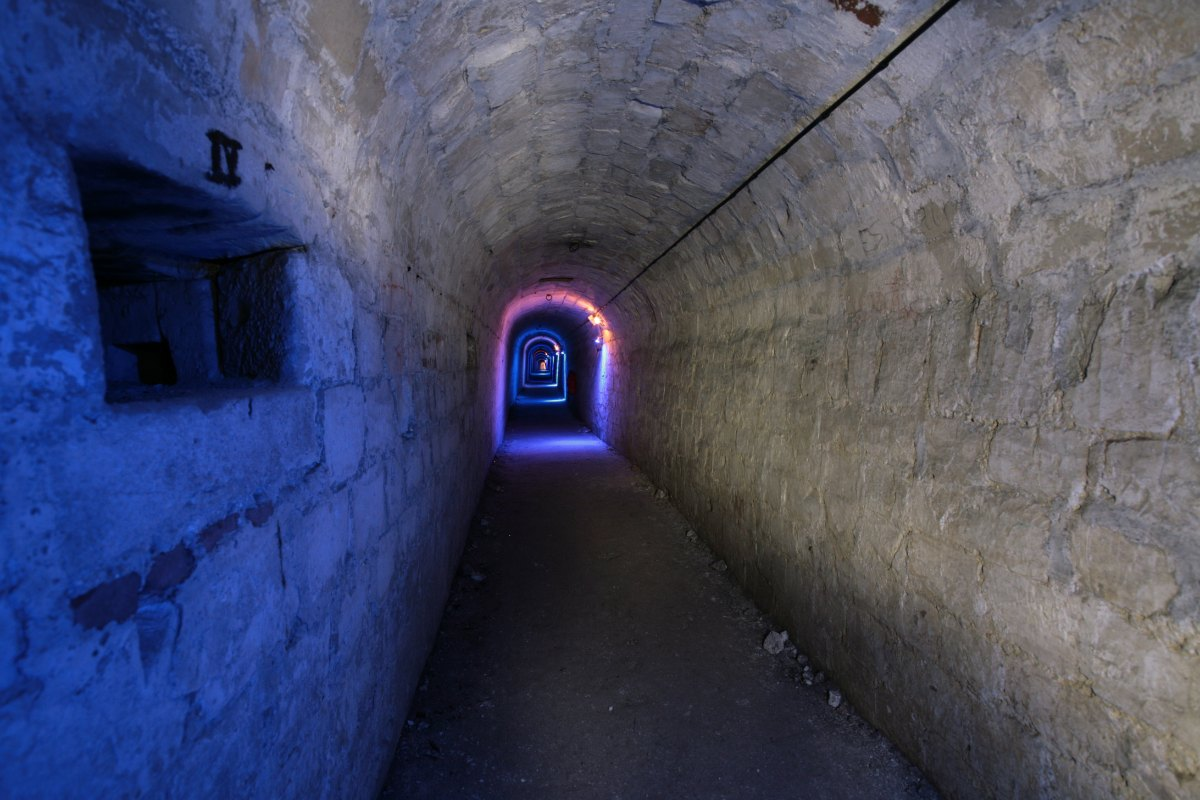 Underground tunnels under the citadel - Cambrai